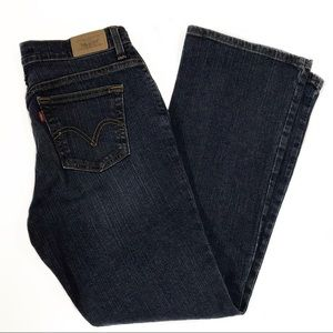 Levis Classic medium-rise relaxed bootcut 550
